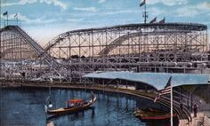 Once upon a time, the first roller coaster ever built on the West Coast reached toward the sky in the city of Venice, California. The ride was called Race Thru The Clouds and when it opened on July 4, 1911, even with only half of its cars on line over 25,000 people rode it in one day.