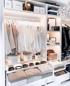 Bedroom Closet Design, Room Ideas Bedroom, Home Room Design, Closet Designs, Dream Home Design, Bedroom Decor, Wardrobe Room, Dressing Room Design, Ikea Dressing Room