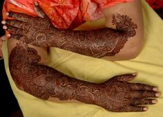 """A busy pre-wedding event. The bride surrounded by her girls. Everyone giggling. Hands held up high beautifully adorned by mehndi. A common scenario. The world is moving forward at an astronomical speed and in the clutches of urbanization cultures are taking new turn. It is quite surprising how even in today's world """"mehndi"""" has stood […]"""