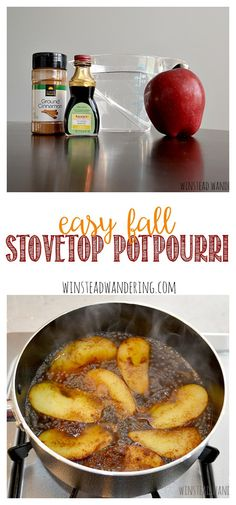 Easy Fall Stovetop P