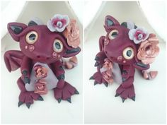 Polymer Clay Victorian Dragon Twisted & Troublesome Friends November 2014