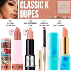 Requested by the lovely @krystowska...CLASSIC K DUPES I have lots of dupe requests from you darlings in my queue that I am continually…