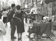 Mario Carbone. Via Margutta, Rome, 1950s.  [::SemAp FB    SemAp G+::]