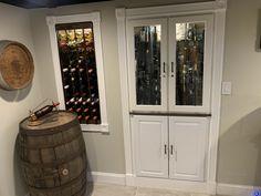 Black Ceiling, Liquor Cabinet, Basement, Flat, Storage, Furniture, Home Decor, Purse Storage, Bass