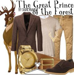 Disney Bound | The Great Prince of the Forest | Bambi