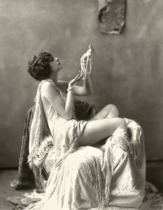 Billie Dove and a girl can never have enough Pearl ropes.