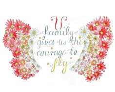 Family Gives Us the Courage