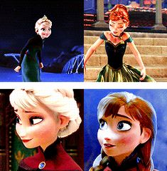 A Sister More Like Me Elsa and Anna Parallels, Frozen Frozen Disney, Frozen 1, Frozen Fan Art, Frozen And Tangled, Disney Magic, Anna E Elsa, Frozen Elsa And Anna, Disney Dream, Disney Love