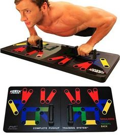 Push Up Stands 158925: Power Press Push Up - Complete Push Up Training System -> BUY IT NOW ONLY: $60.86 on eBay!
