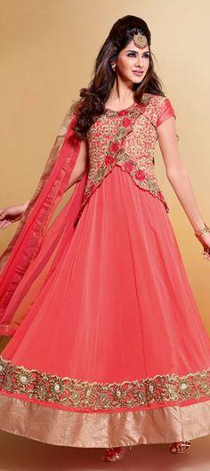 412529: Designer Jackets with Anarkali