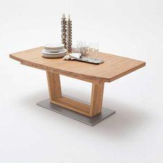Ausziehbarer Esstisch Aus Wildeiche Geölt Modern Holztisch ,massivholztisch,küchentisch,holztisch Massiv,tisch