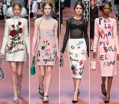 Dolce & Gabbana Fall/Winter 2015-2016 Collection – Milan Fashion Week   Fashionisers