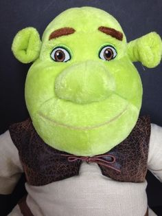 "Build A Bear Shrek The Third Plush Doll 17"" Green Ogre Disney Stuffed Toy Movie #AllOccasion"
