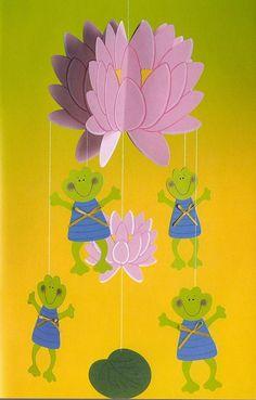 Foto: Hanging Ornaments, Tweety, Techno, Paper Flowers, Dream Catcher, Garland, Kids Rugs, Wreaths, Crafts