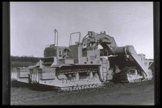 Rare Caterpillar prototype scraper photos. | Construction Digger Blog | The Construction Index