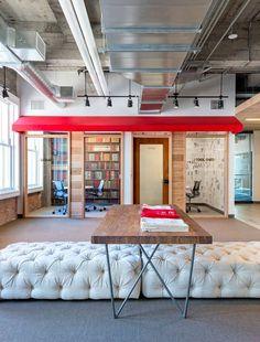 샌프란시스코에 위치한 YELP 헤드쿼터는 지역적 특성의 반영과 실리콘 밸리 내 고층빌딩 및 산업 공간에 대한 새로운 비즈니스 환경 구축을 목적으로 시작된다. 한정적인 대지위에 적층된 오피스 내 다양한 커뮤..