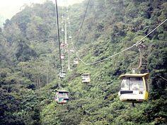 Sky train:) Genting, Malaysia