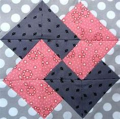 Richard and Tanya Quilts: Beginners Quilt Along Block 2
