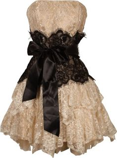 Love Lace,  Prom dress?