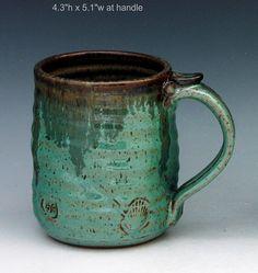 Stoneware mug tankard 148 holds 18 oz oz by rmello on Etsy, $28.00