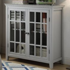 Best Ermont 2 Door Accent Cabinet House Cabinets Cabinet 400 x 300