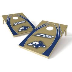 Akron Zips 2' x 4' XL Shield Tailgate Toss Set