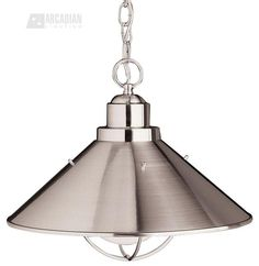 Seaside Transitional Pendant Light - KCH-2713-NI $114
