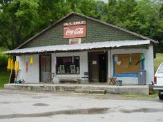 A. T. Cole's Store Tennessee Valley Authority, Cabin, Vacation, House Styles, Store, Places, Outdoor Decor, Photos, Vintage