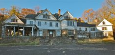 """1/2 Hurstmont Estate, NJ - Listed on the """"Most Endangered Historic Sites of New Jersey"""" list in 2010,  the mansion was originally constructed in 1886, and was essentially rebuilt on the existing foundation in 1902-03."""