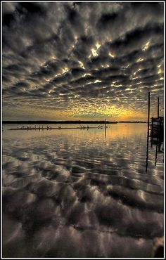 clouds and the sea,,,Reflection Photography,,,