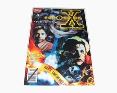 THE X-FILES Comic Book Issue 4 VF 1995 David Duchovny Gillian