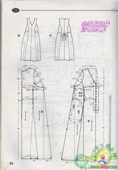 vestido de las Mujeres patrón