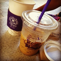 Morning java at The Coffee Bean