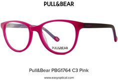 Pull&Bear PBG1764 C3 Pink Pull, Eyewear, Bear, Style, Swag, Eyeglasses, Bears, Sunglasses, Outfits