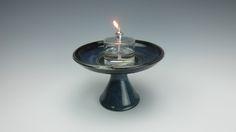 Table Chalice - UU - Variegated Blue (1)