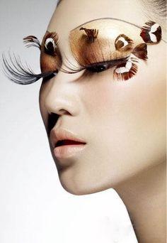 """Tiger girl"" creative makeup - Will Lee's name Make Up Art, Eye Make Up, Female Dragon, Dragon Lady, Tiger Girl, Fantasy Make Up, Eye Art, Creative Makeup, Beauty Make Up"