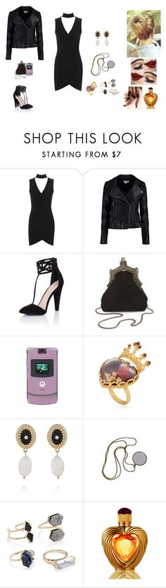 """Angelica #1"" by jazmine-bowman on Polyvore featuring WearAll, Boohoo, Little Mistress, House of Harlow 1960, Motorola, Dolce&Gabbana, Givenchy, Forever 21 and Victoria's Secret"
