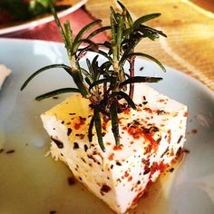 Cheese'y #rosemary tree ;)