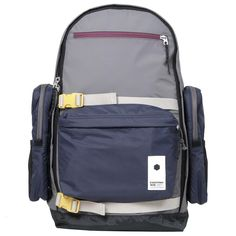 Wood Wood x Eastpak Wags Backpack:  Not sure if I like this or not...but the one detail I am enjoying is the little keyring/chain holder on the bag strap - I have just stitched something similar onto one of my own bags...very useful!