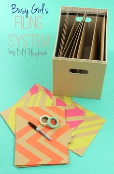 Busy Girl: Household Filing System - DIY Playbook