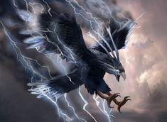 Thunderbird 0e/1e Fantasy RPG Creatures
