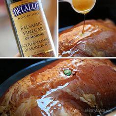Crock Pot Balsamic Pork Roast   Skinnytaste