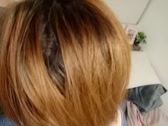 How to stop my hair separating at the crown like this?
