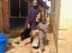 Hausa Girl, Ushafa Village, FCT, Abuja, Nigeria, #JujuFilms