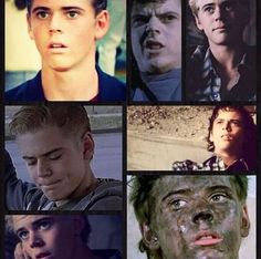 The many faces of Tommy// Ponyboy love him two bits\\ Hah! I made an Outsiders pun! The Outsiders Ponyboy, The Outsiders Cast, Sad Movies, Iconic Movies, I Movie, Nothing Gold Can Stay, Stay Gold, The Outsiders Preferences, Greaser Girl