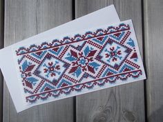 Traditional cross stitch bookmark pattern by CamisTheCrossStitch Cross Stitch Gallery, Cross Stitch Pictures, Cross Stitch Bookmarks, Cross Stitch Patterns, Types Of Stitches, Create Your Own, Birthday Gifts, Projects To Try, Greeting Cards