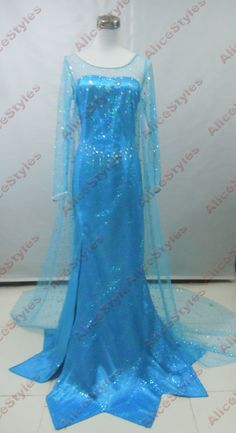 Handcrafted Disney Elsa Dress Queen Elsa Dress by AliceStyles, $24.99