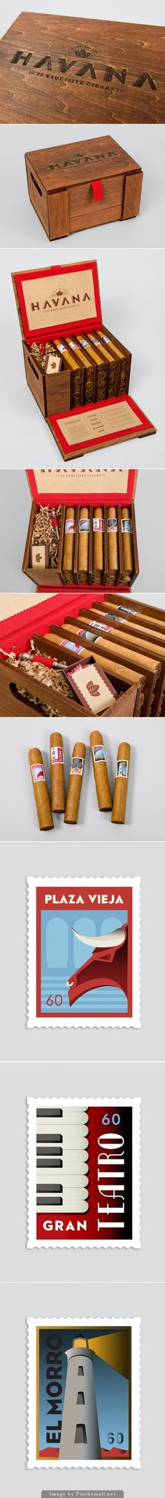 Packaging of the World is a package design inspiration archive showcasing the best, most interesting and creative work worldwide. Cigars And Whiskey, Good Cigars, Pipes And Cigars, Cigar Humidor, Cigar Bar, Branding, Havana Cigars, Cigar Club, Cigar Smoking