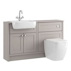 Find Shades Bathroom Vanity Unit & Toilet Package - Breeze Shaker at Homebase. Visit your local store for the widest range of bathrooms & plumbing products. Bathroom Vanity, Diy Bathroom, Modern Bathroom, Bathroom Vanity Units, Toilet And Sink Unit, Toilets And Sinks, Diy Bathroom Vanity, Steam Showers Bathroom, Bathroom
