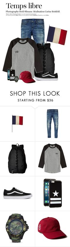 """""""TEMPS LIBRE"""" by marianamenes19 ❤ liked on Polyvore featuring Jayson Home, Scotch & Soda, NIKE, Stussy, Vans, Givenchy, KYBOE! and Hedi Slimane"""